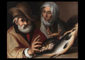 Escuela boloñesa de principios del siglo XVII Pescaderías