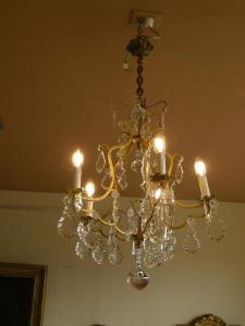 五灯枝形吊灯,二十世纪初