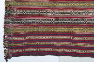 Antico pannello o scialle Indiano NAGALAND - B/2372 -