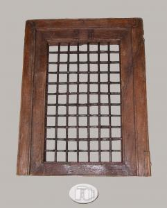 Criado con marco de madera