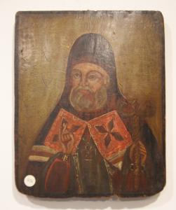 Ancient Russian icon from the 1800s