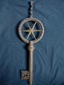 灿烂的18世纪锁匠标志,61厘米