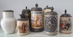 boccali da birra XIX secolo