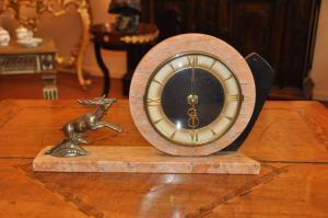 Reloj de mesa Decò