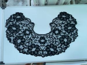 Накидка на плечо из черного тюля и пайеток Италия
