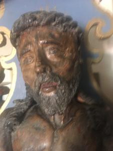 scultura in terracotta Ecce Homo
