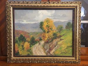 Amedeo Merello (1890-1979) pintura al óleo