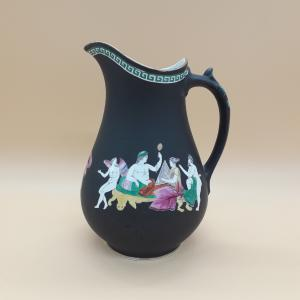 Ceramic jug decorated with classical mythology scenes, Meir