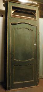 pts521 n.4 двери с рамой восемнадцатого века, mis. максимальная ширина 285 x 106 см