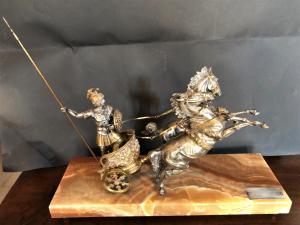 biga romana con cavalli