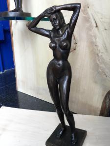 """""""DEA DEL NILO"""" (scultura in bronzo)"""