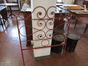 Pair of iron beds