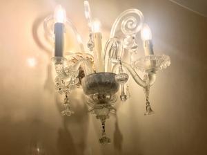 3 пламени настенный светильник