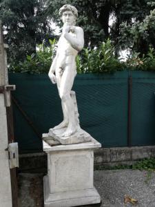 Coppia di statue