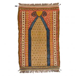 Ancient Konya prayer rug