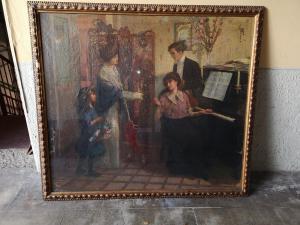 Painted Venanzio clod
