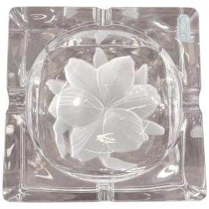 Refined Crystal Ashtray signed Durand France € 500 negotiable