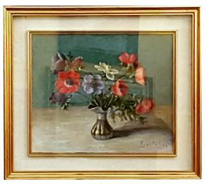 ARMANDO FIGALLO (GENOVA 1892-984) – VASO DI ANEMONI
