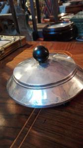 Art Deco Silber Zuckerdose