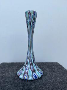 Vase with murrine. Fratelli Toso, Murano.