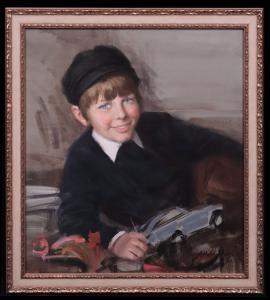 Attilio Melo (Pádua 1917-Milão 2011) - Retrato