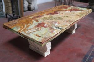 Antique marble table top. Period 1800.