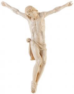 Hermoso Cristo, Escuela de italiano, Marfil tallado, s. XVIII.