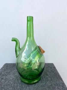 Glasgießflasche mit Doppelfach Italien.