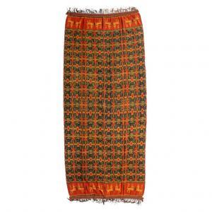 Panel textil indonesio IKAT - B / 1043