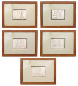 "Architectural drawings ""A. Senape"" - CA / 1042"
