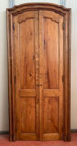 par de puertas