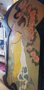 pannelli dipinti Art Nouveau