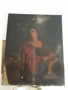 Sybilla Samia Sienese学校H118x94时代1600 Garanzis法律条款