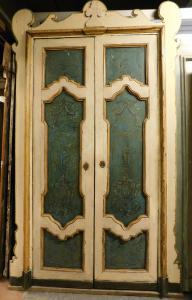 ptl469 una porta laccata , Siciliana, ep.  primi '700,