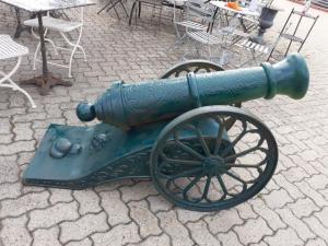 Canhão de ferro fundido
