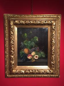 dipinto olio su tela cm 51 x 41