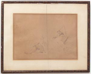 """女人"""" Postiglione""""的绘画-CA / 1079"""