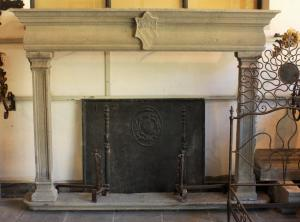 FIREPLACE IN STONE
