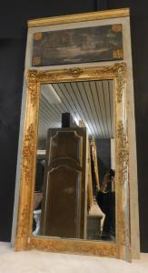 specc224 - лакированное и позолоченное зеркало, mis. см l 77 xh 158