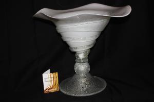 """""""Spirale"""" centerpiece in Murano glass / by Sergio Costantini (388)"""