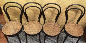 4 thonet chairs