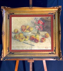 """1954年菲利普(FILIPPO)萨利西的画作""""静物"""""""