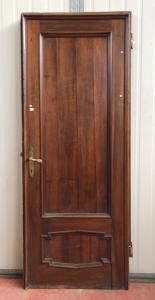 leads to a door