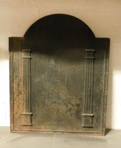 p197 cast iron plate with columns, cm 60 xh 75
