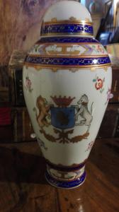 Coppia vasi con coperchio Samson