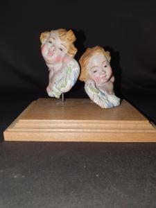 Coppia di cherubini del XIX secolo