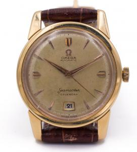 Omega Seamaster in 18k gold, hammer automatic, 1952
