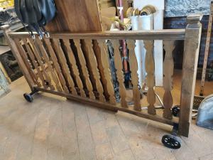 Balaustra in legno