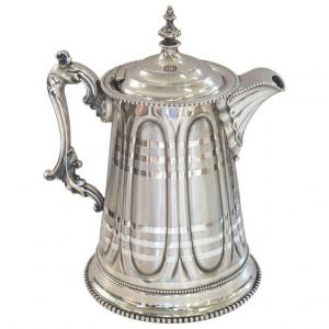 Rogers Smith品牌的古董镀银水壶