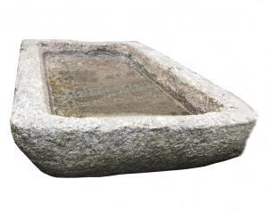 Stone sink L 103 prof 52 H est 13 H int 6